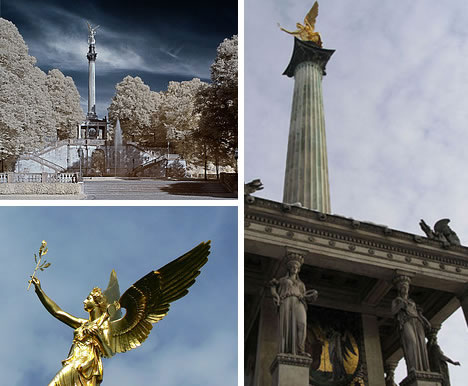 Friedensengel Peace Angel in Munich