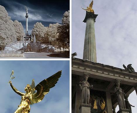 Friedensengel Peace Angel in Munich