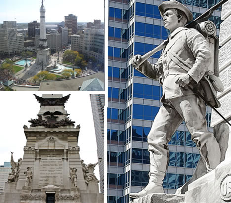 Soldiers\' and Sailors\' Monument Circle