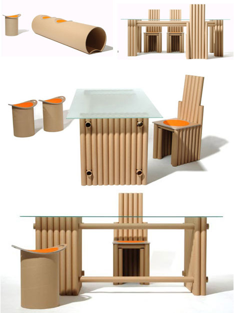 7 creative cardboard building paper furniture projects