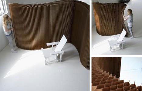 7 Creative Cardboard Building & Paper Furniture Projects ...