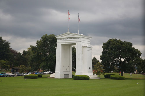 Peace Arch, South Vancouver