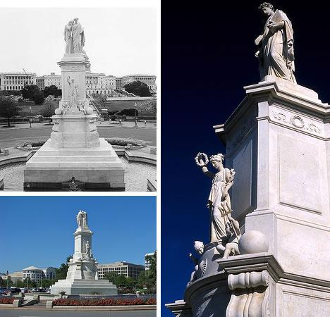 Peace Monument in Washington D.C.