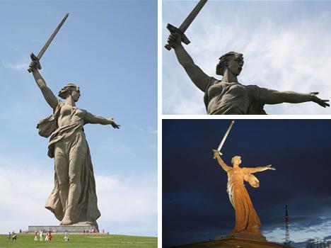 Rodina Mat Zovyot Mother Motherland Is Calling