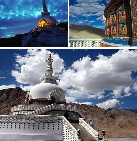 Shanti Stupa Leh India