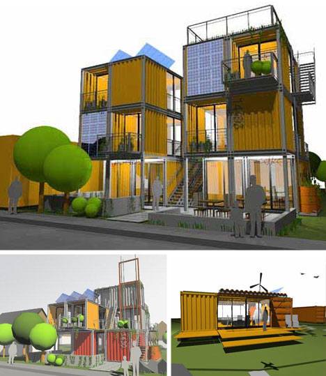 Container Home Design Ideas: 10 Cargo Shipping Container Houses, Building Designs