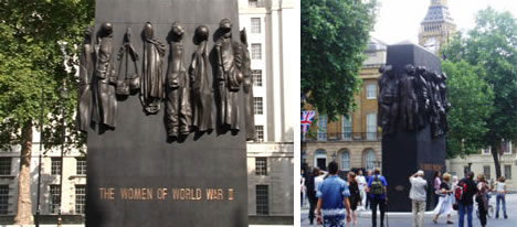 Women of World War II - Monument in London
