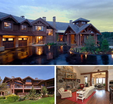 995 longbow place in larkspur colorado - Extreme Houses