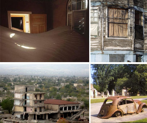 20 abandoned cities towns places around the world for Abandoned neighborhoods in america