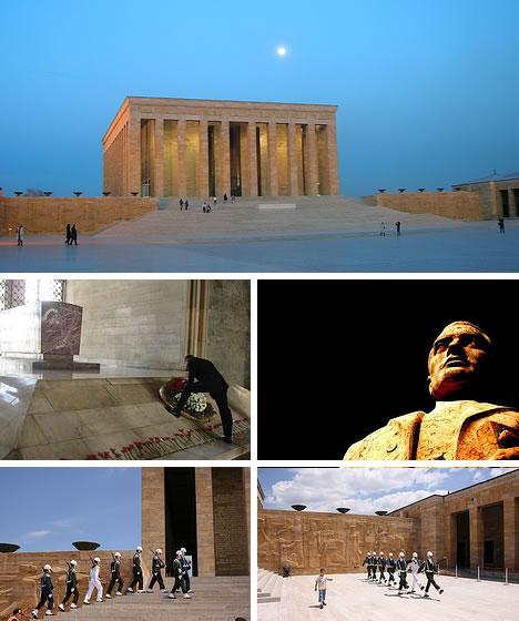 Ataturk Mausoleum in Ankara