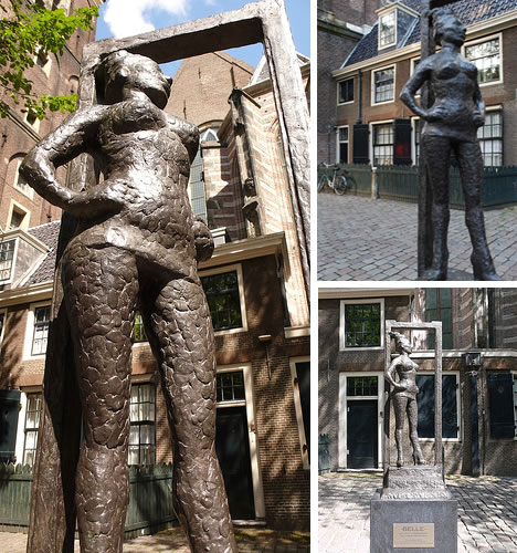 Belle Statue dedicated to Prostitutes in Amsterdam