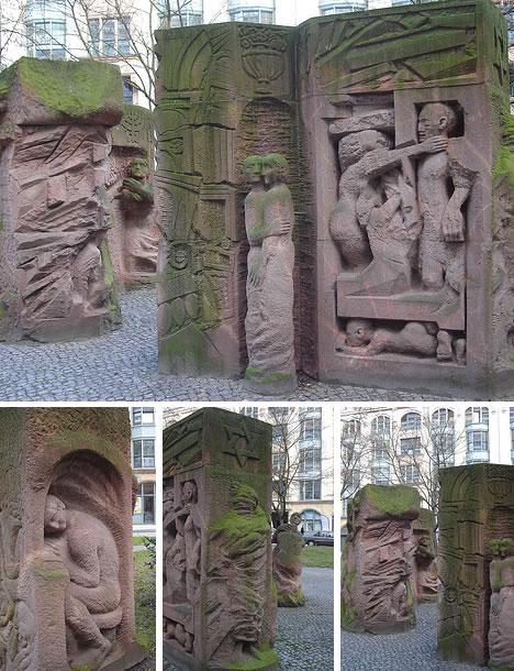 Block der Frauen monument (Rosenstrasse)