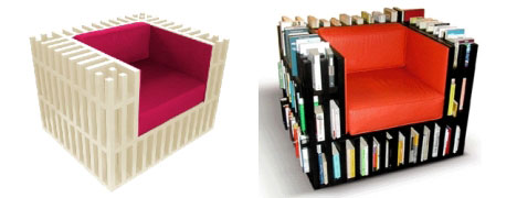Chair Bookcase