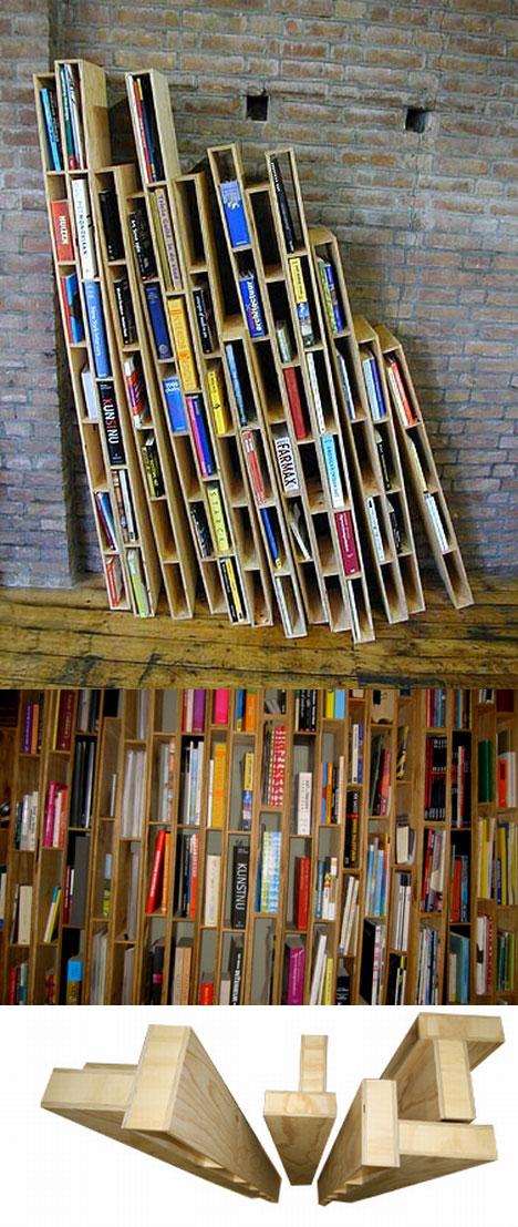 Shelve It 15 More Creative Unique Bookcases Bookshelves
