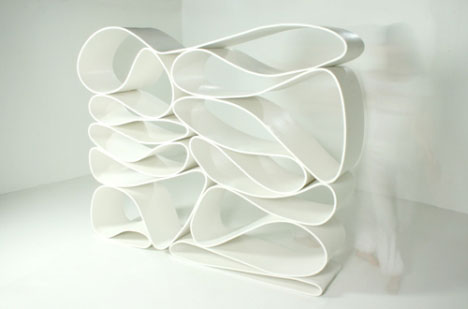 Mobius Strip Bookcase