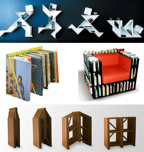 Urban Furniture on Brilliant Book Shelving Systems  Creative And Modular Urban Furniture