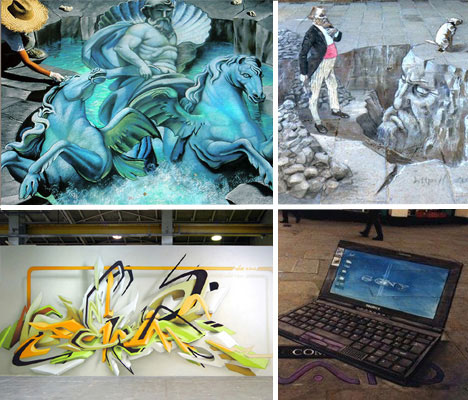 10 Of The Worlds Best Most Amazing 3d Street Artists Urbanist