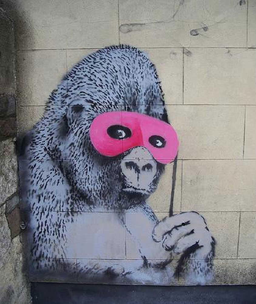 guerrilla marketing gorilla in disguise