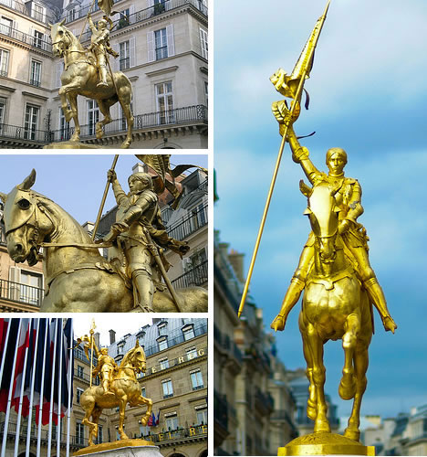 Joan of Arc Statue in Paris