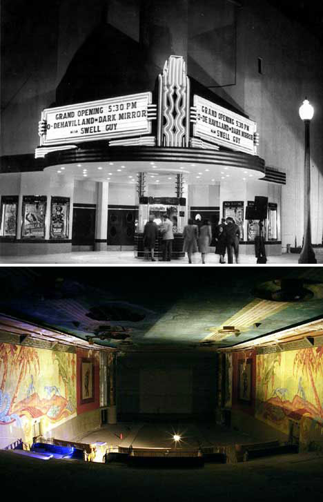Abandoned Movie Theaters California