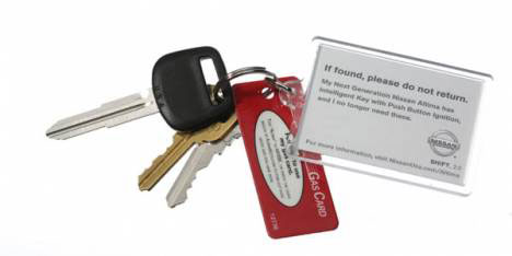 nissan lost key ring guerrilla