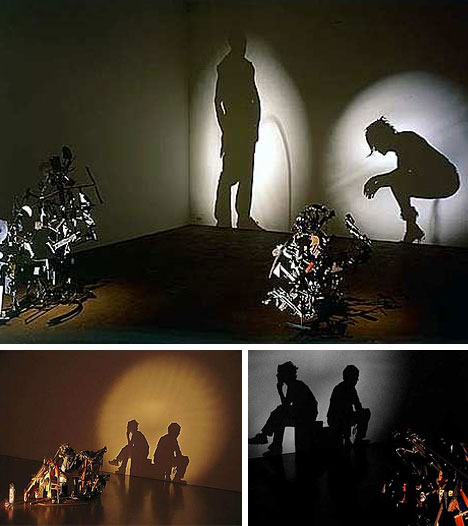 Recycled Trash Art | recycle