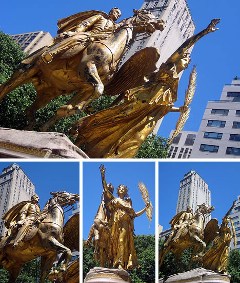 Sherman Monument in Grand Army Plaza, NYC