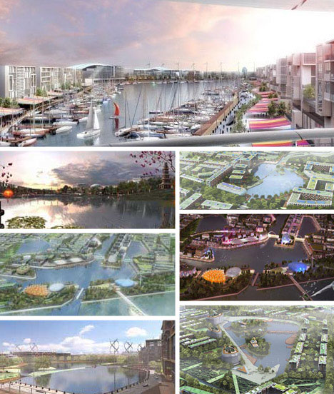 dongtan eco city shanghai world's first large scale Retrofits to large-scale new-towns, call themselves, or are labelled, eco-cities   dongtan, promoted as the world's first eco-city, was planned for an 86 km 2 site   and the commercial enterprise arm of the shanghai municipal government.