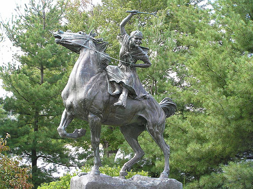 Sybil Ludington - Hometown Heroin Monument
