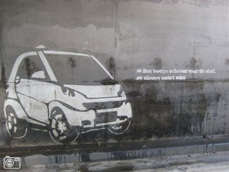 smart car guerrilla marketing