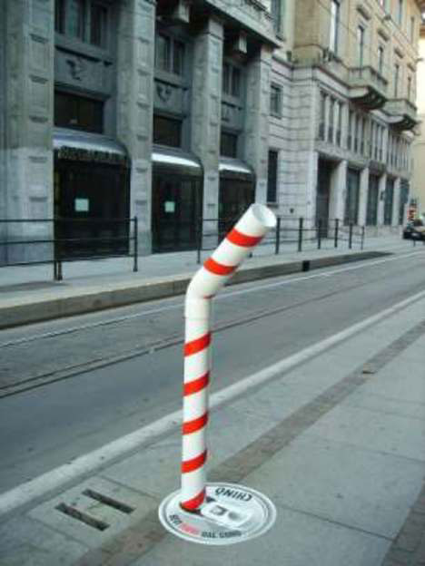 chino straw italy guerrilla marketing