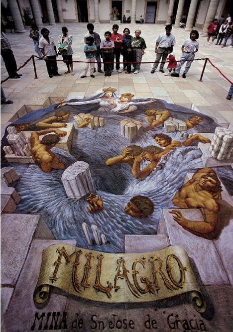 10 of the worlds best most amazing 3d street artists urbanist kurt wenners ability to transform renaissance classicism into 3d street art is unparalleled and has made him the top anamorphic street painting artist of thecheapjerseys Images