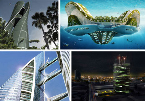 Eco geek 7 near future wonders of modern green technology for Technology architecture design
