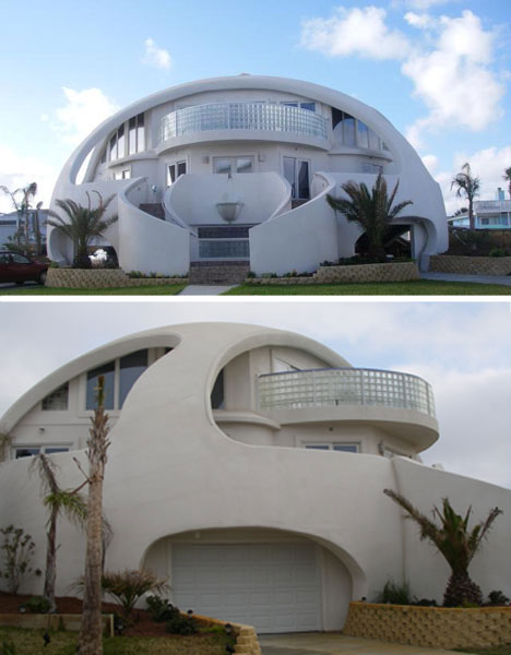 amazing beach houses dome of a home