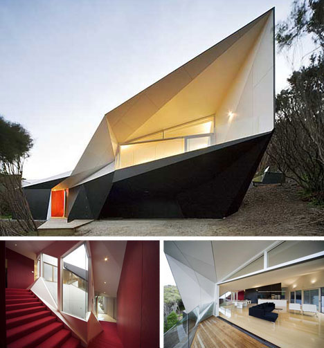 amazing beach houses klein bottle house