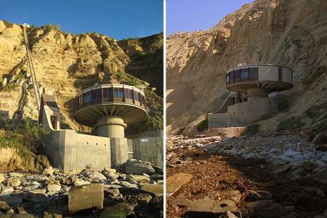 amazing beach houses mushroom house la jolla ca