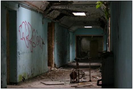 The Cane Hill Asylum in London