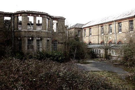 Abandoned Row Houses Richmond Virginia