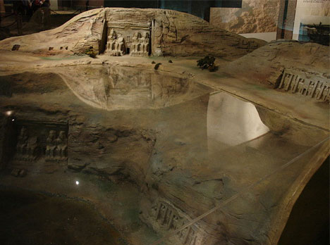 Egyptian Temples Moved