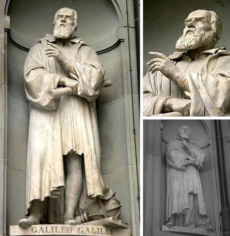 Galileo Galilei Statue