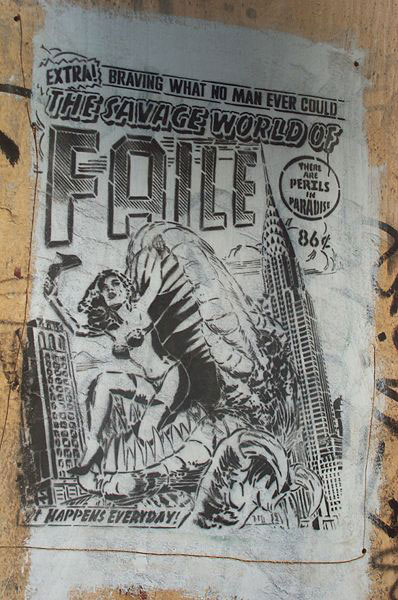 guerrilla art marketing faile