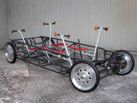humancar 15 Crazy Ecofriend Vehicles