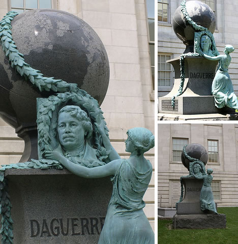 louis daguerre memorial