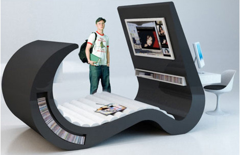 Funky Furnitures 20 Clever Living Room Furniture Designs