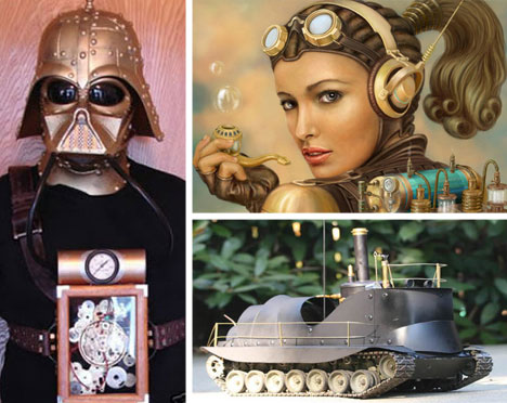 Steampunk Art, Design and Fashion