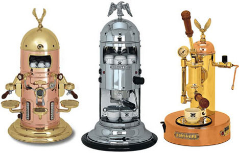 Steam Press Coffee Maker : 15 (More) Creative Works of Steampunk Art, Design & Fashion Urbanist