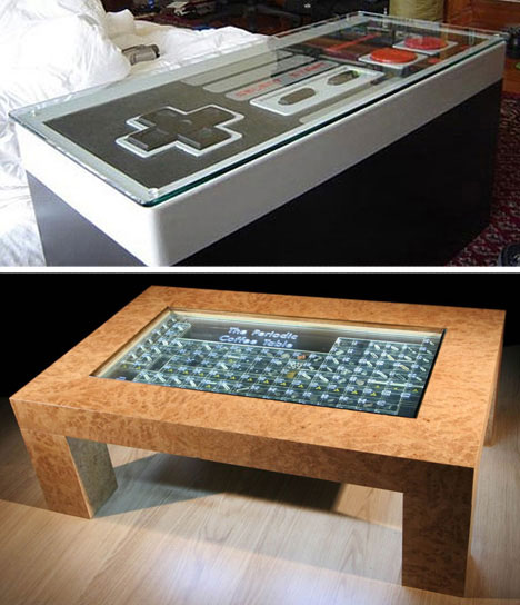 Funky Coffee Tables: Funky Furnitures: 20 Clever Living Room Furniture Designs