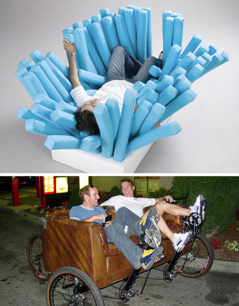 Funky Furnitures 20 Clever Living Room Furniture Designs Urbanist