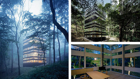 Invisible Homes: 7 Glittering Greenhouses & Glass Houses | Urbanist
