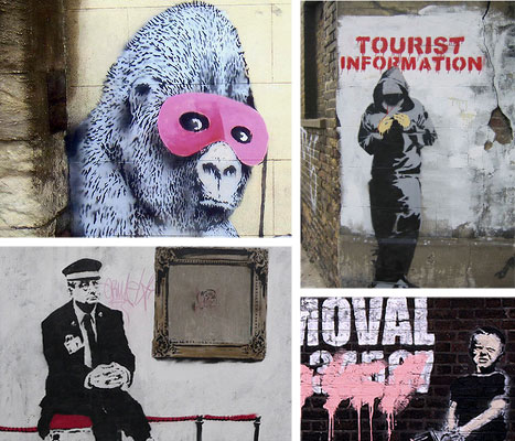 banksy books websites forums